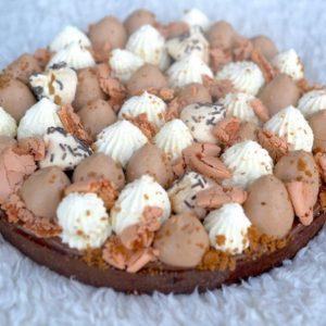 Tarte chocolat par Camille pâtisse !