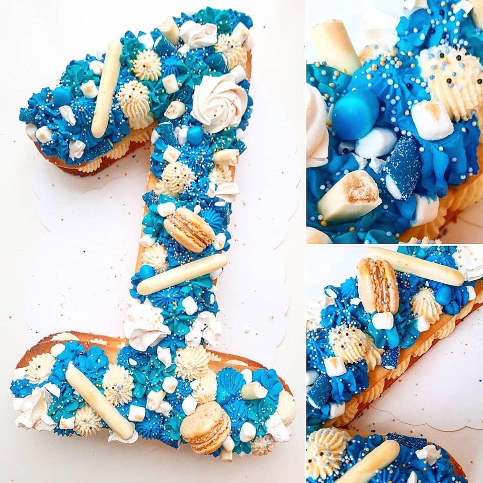 Number cake garçon