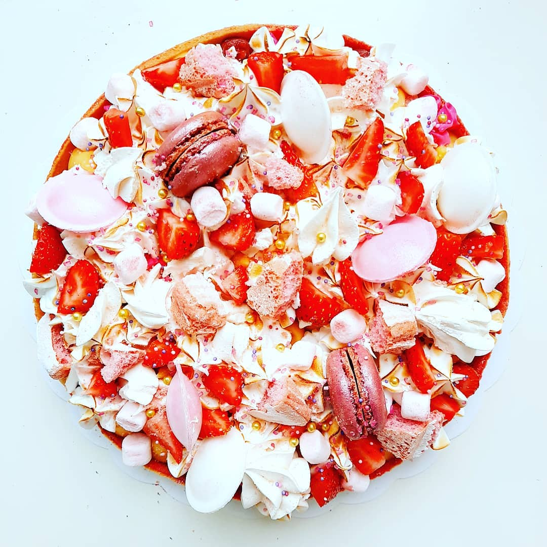 Tarte fraise passion