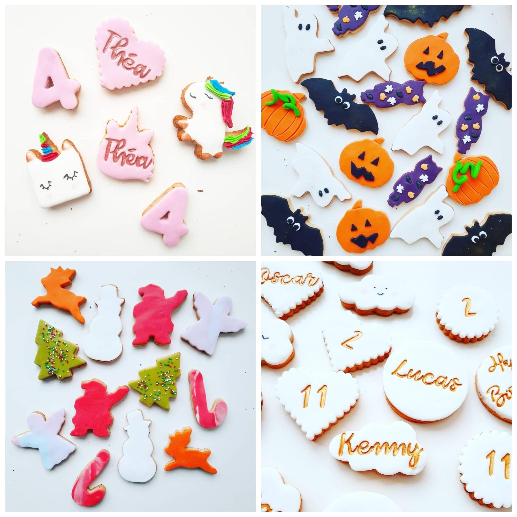 Biscuits décorés thème