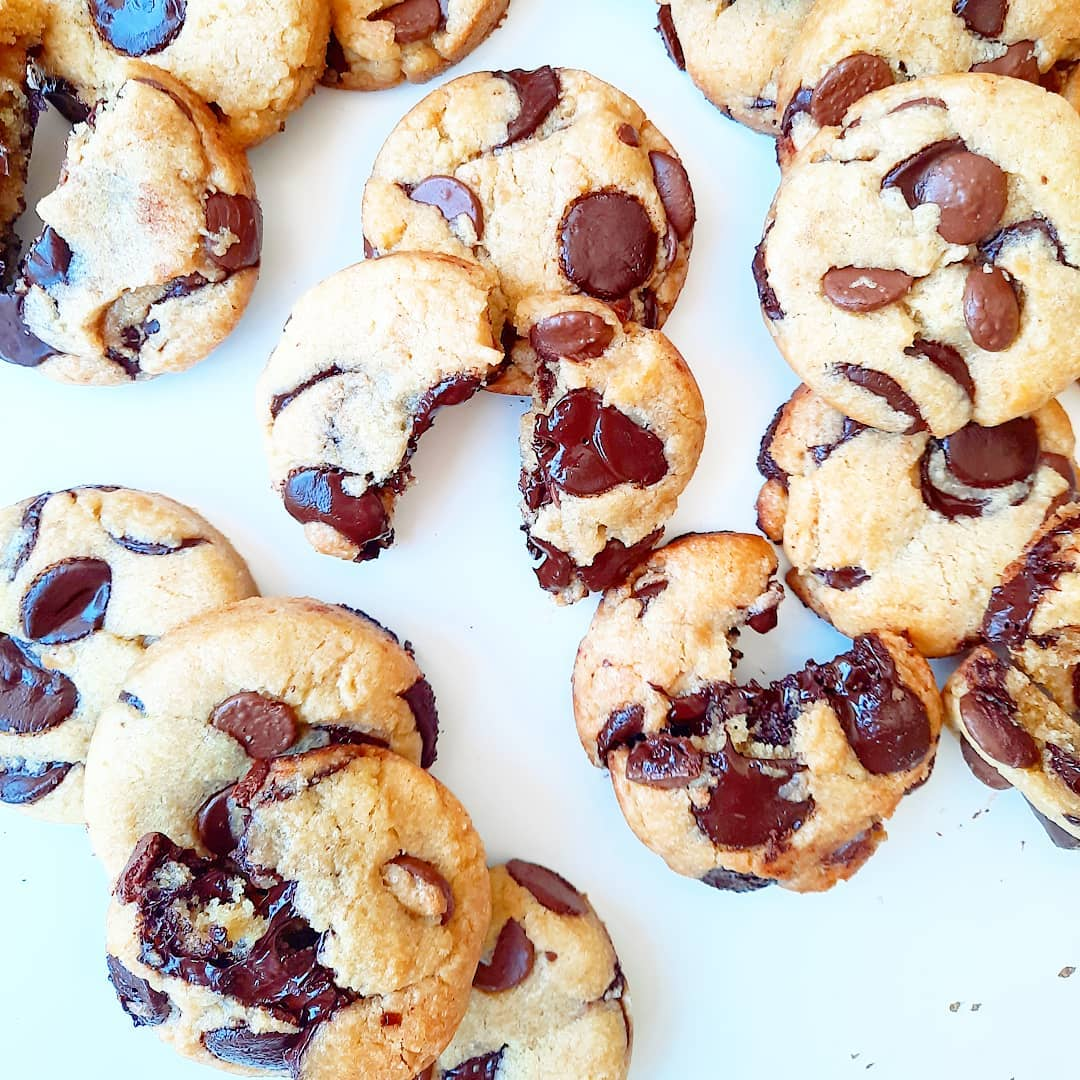 Cookies chocolat huile d'olive